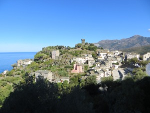 Corsican village that inspired the novel