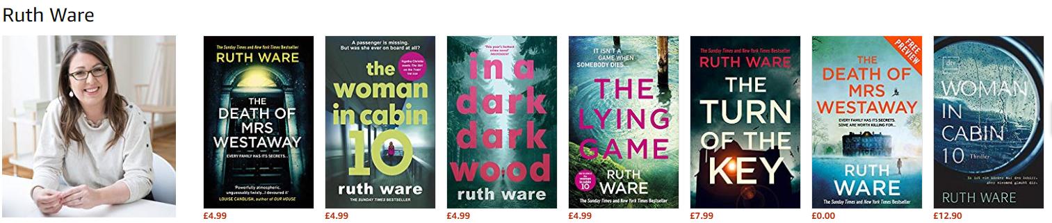 Ruth Ware books