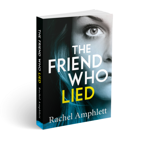 The Friend Who Lied Cover 3D wtih spine (2)