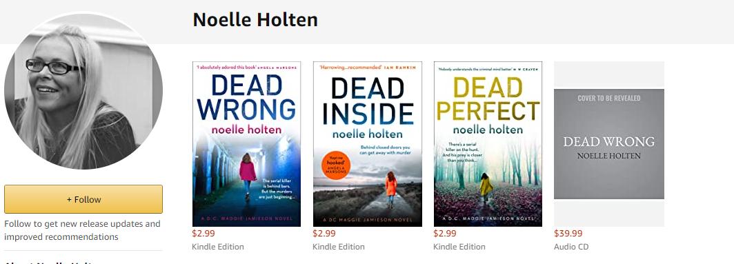 Noelle Holton 3 books